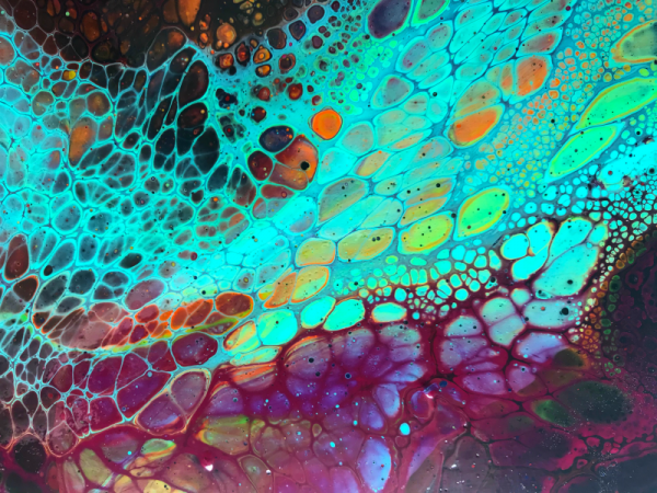 Online class how to get cells with acrylic pouring
