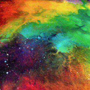 Poppy Koning - fluid art